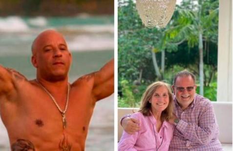 Vin Diesel y Raúl de Molina disfrutan su vacaciones en República Dominica