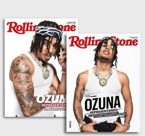 Ozuna aparecer la portada de 'Rolling Stone' en México y Colombia