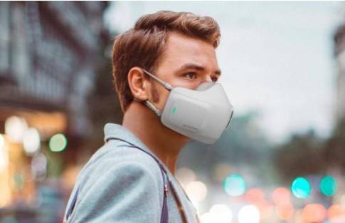 LG crea una mascarilla inteligente purifica el aire