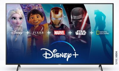 ✅ Disney+ estará disponible en los televisores Sony con Android TV