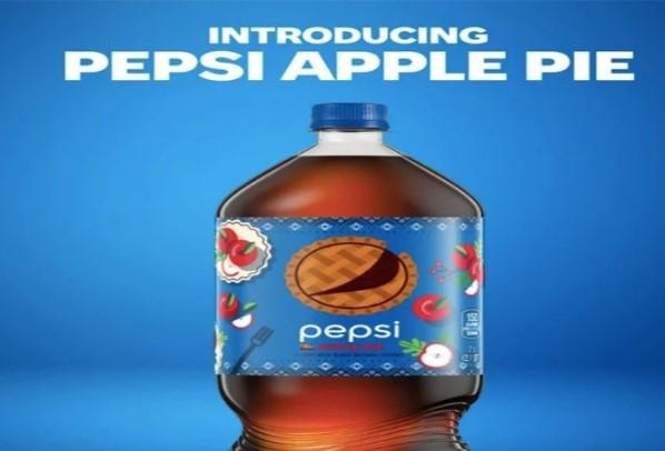 Pepsi anuncio el lanzamiento de su nuevo refresco sabor, pay manzana