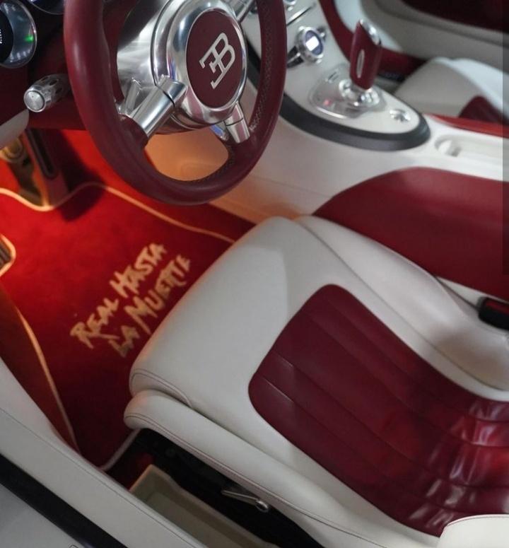 Anuel AA se compra un Bugatti