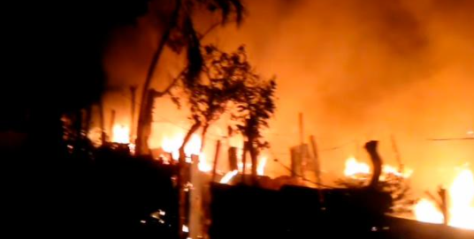 Mueren cuatro miembros de una familia durante incendio en San Pedro de Macorís