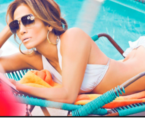 El domingo de piscina de Jennifer López en República Dominicana