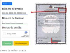 Cómo verificar las nuevas actas del registro civil en línea