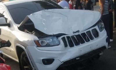 """Onguito Wa"""" sufre accidente de tránsito e impacta a dos personas"""